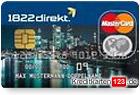 1822direkt MasterCard kostenlose Kreditkarte online