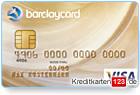 Barclaycard Gold Visa Kreditkarte online im Vergleich