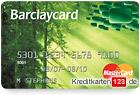 Barclaycard Green MasterCard Kreditkarte umweltfreundlich