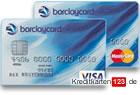 Barclaycard New Double Visa Card MasterCard Kreditkarten