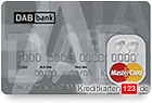 DAB Bank MasterCard Kreditkarte im Kreditkartenvergleich