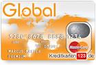 Global MasterCard Premium Prepaid Kreditkarte ohne Schufa