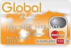 Global MasterCard Starter Prepaid Kreditkarte ohne Schufa