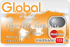 Global MasterCard Traveller Prepaid Kreditkarte ohne Schufa