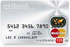 Netbank MasterCard Platinum Kreditkarte kostenlos Bargeld
