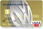 Volkswagen Bank VW Visa Kreditkarte mit Tankstellenrabatt