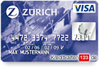 Zuerich Versicherung Visa Kreditkarte Zurich